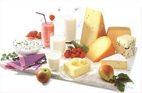 milch käse mit knoblauch und peperoni