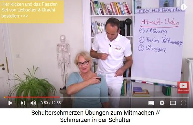 4. Übungen gegen Schmerzen in der Schulter..