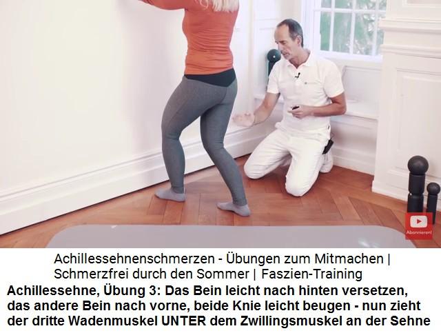 11c. Heilung von Achillessehnen - Liebscher-Bracht-Übungen