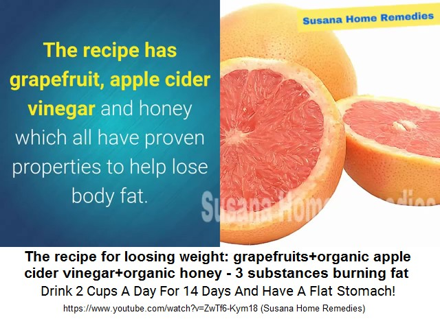 grapefruit and honey weight loss