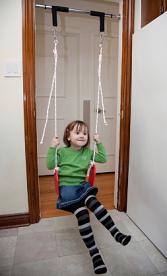 Charmant Indoor Swing In A Door Frame, ...