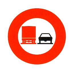 schild lkw durchfahrt verboten